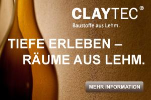 Lehmputz von CLAYTEC