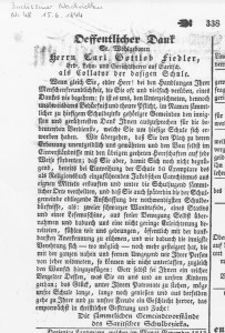 Budissiner Nachrichten 1844