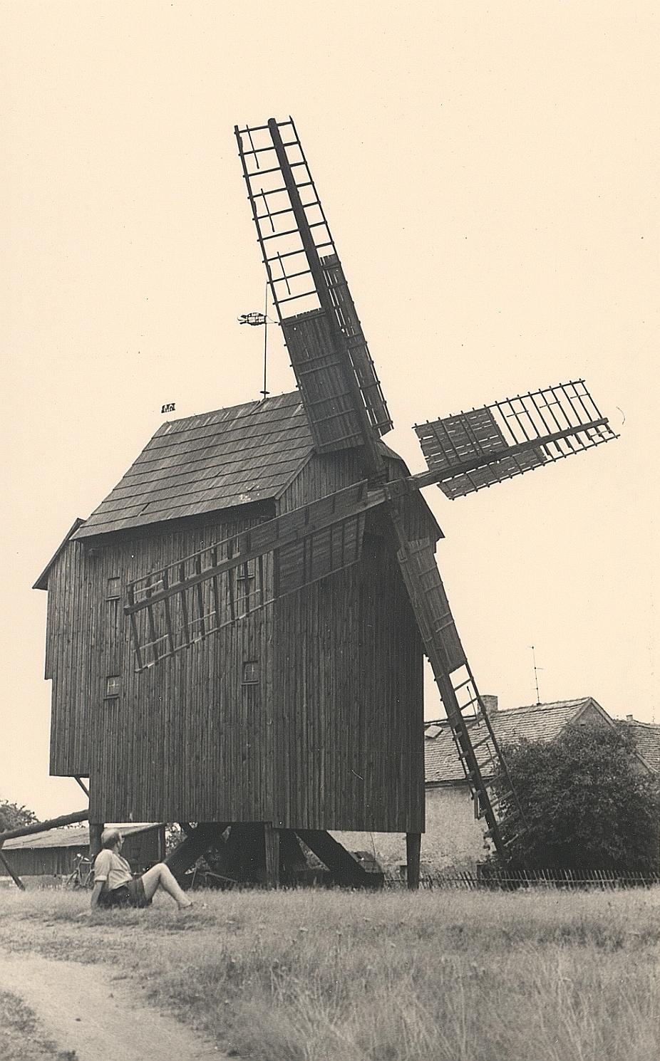 Bockwindmühle auf dem Windmühlenberg