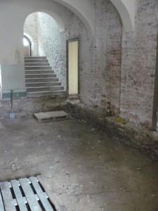 Blick zum Treppenhaus