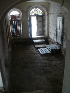 Blick zur Eingangstür