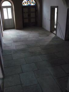 verfugte Granitplatten