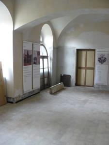 Ausstellung mit Fundstücke