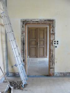 Tür von hinten vorher