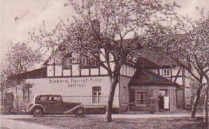 Bäckerei Heinrich Ritter um 1935
