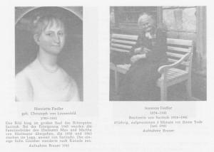 ehemalige Besitzerinnen vom Rittergut Saritsch
