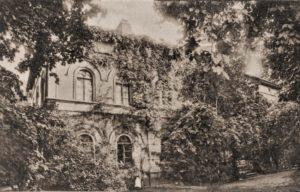 Haus Vorderseite, Postkarte von