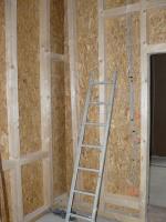 Holzständerwand als selbstragende Wand 2