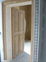 alte Holztür aufgearbeitet