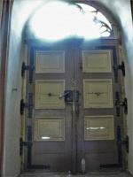 Haustür Innen vor der Restaurierung