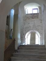 Öffnung der Fenster im Treppenhaus