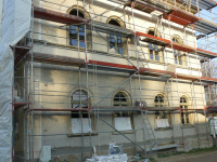 neue Fensterfront