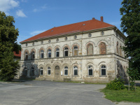 alte Fassade kurz vor dem Aufbau des Gerüstes (23.6.2012)